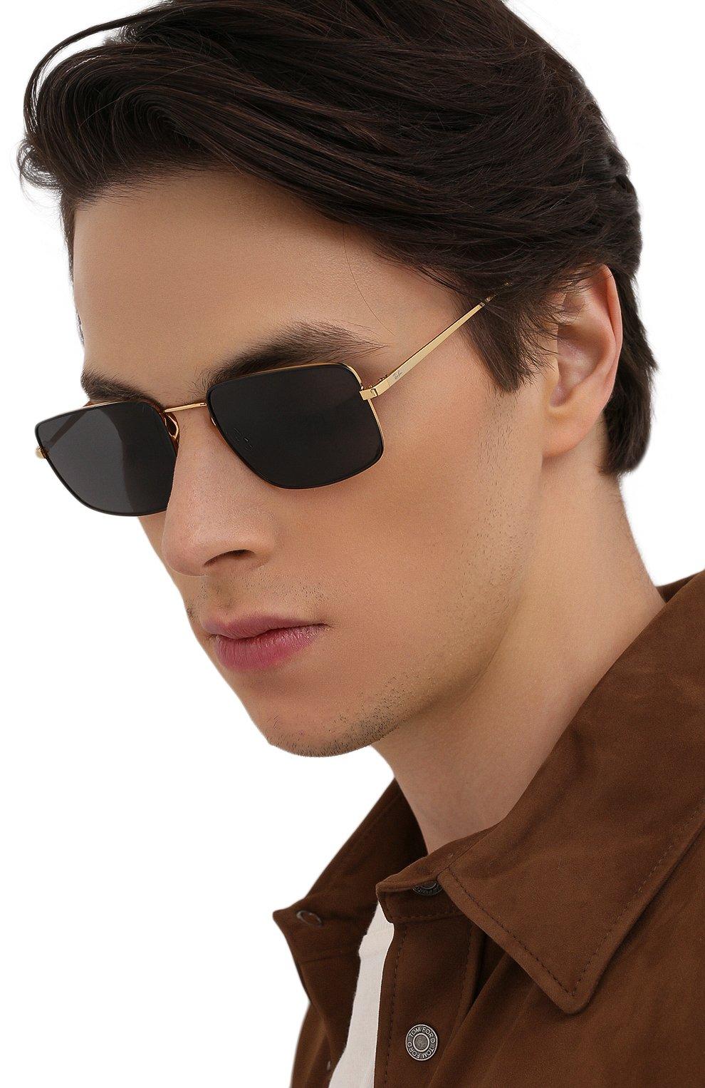 Женские солнцезащитные очки RAY-BAN черного цвета, арт. 3669-905487   Фото 3