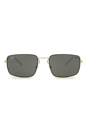 Женские солнцезащитные очки RAY-BAN черного цвета, арт. 3669-905487   Фото 4