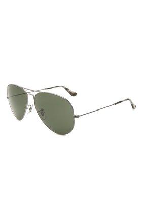 Женские солнцезащитные очки RAY-BAN серого цвета, арт. 3025-919031 | Фото 1