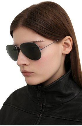 Женские солнцезащитные очки RAY-BAN серого цвета, арт. 3025-919031 | Фото 2