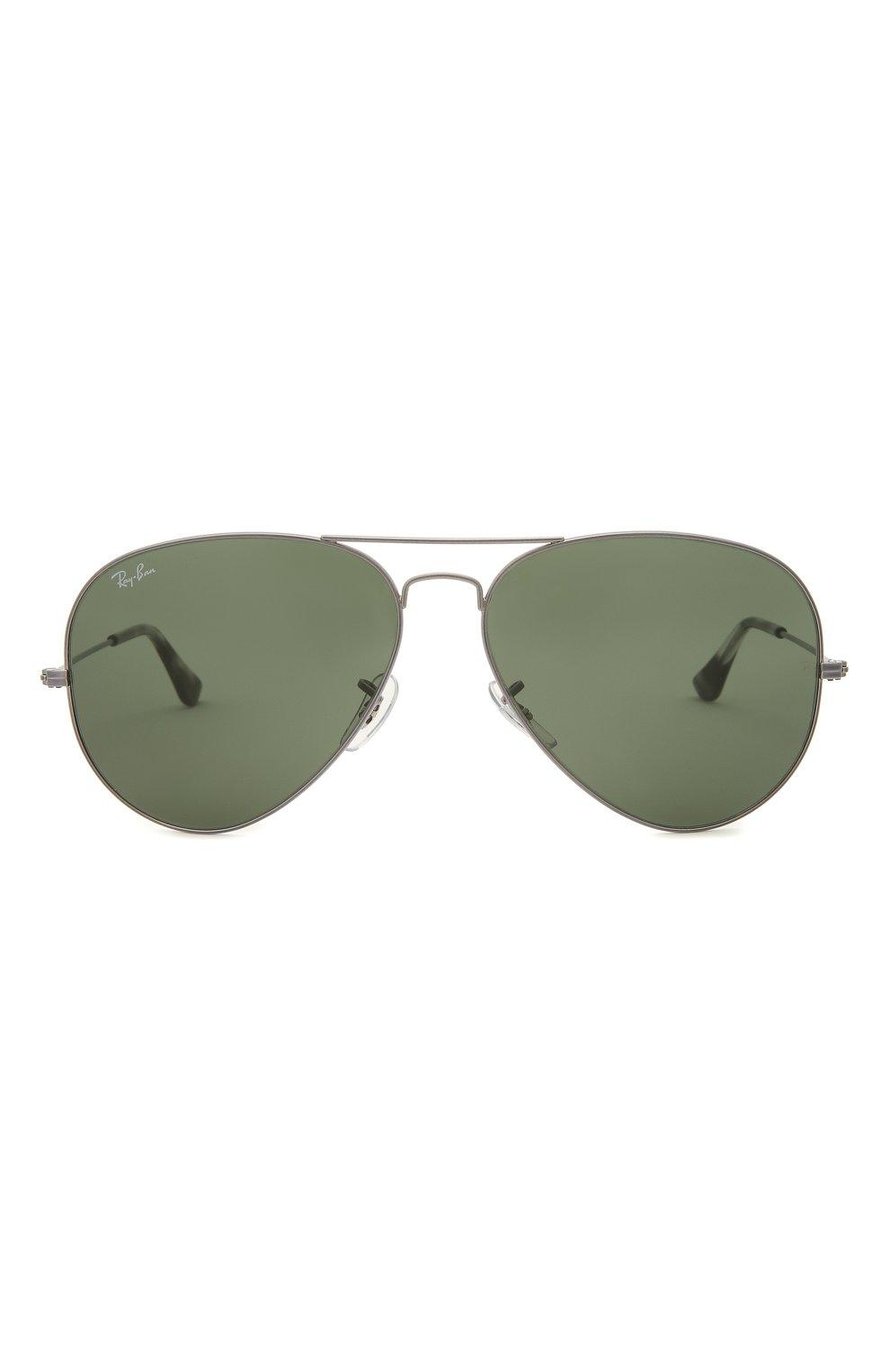 Женские солнцезащитные очки RAY-BAN серого цвета, арт. 3025-919031 | Фото 4