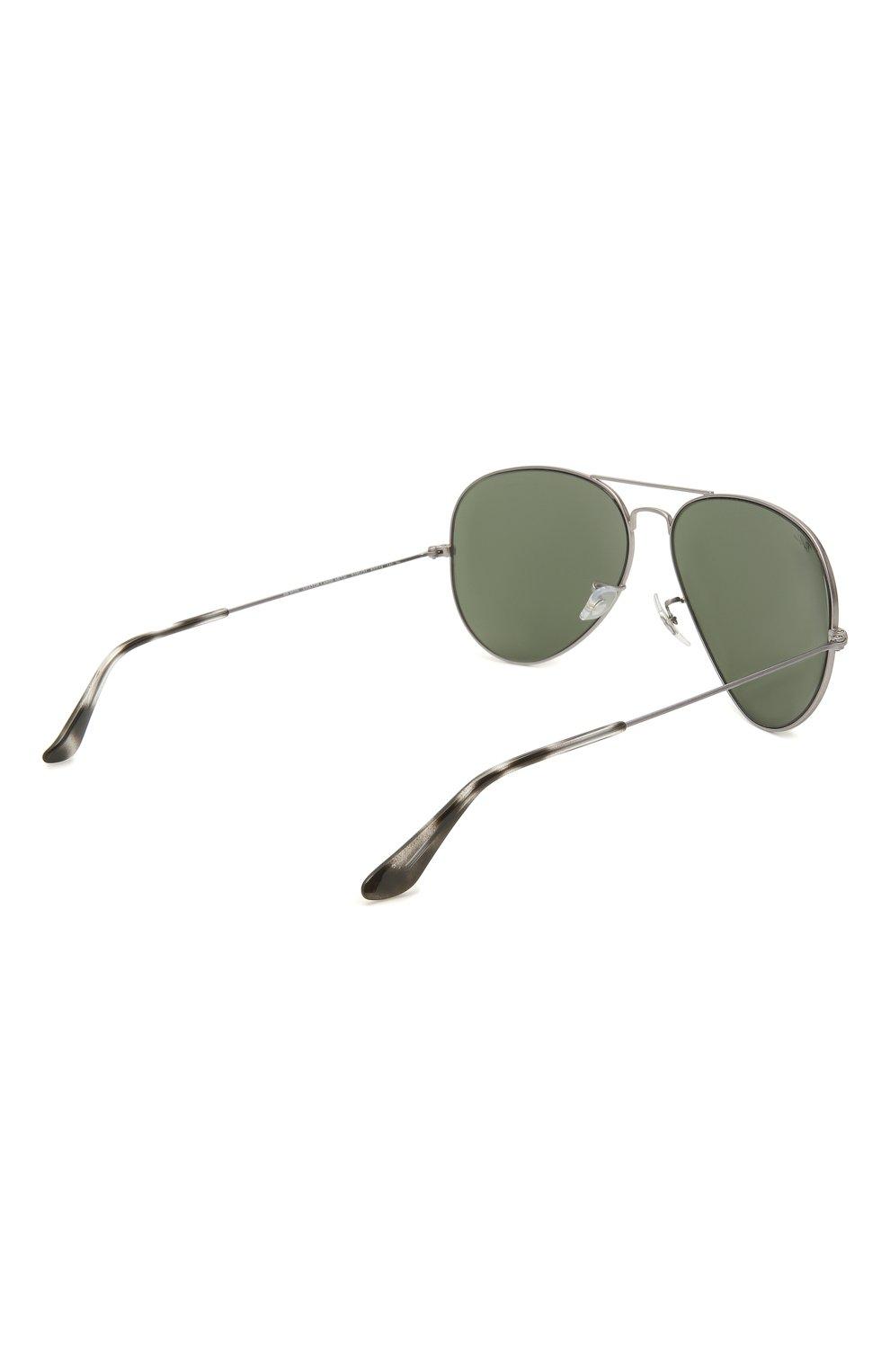 Женские солнцезащитные очки RAY-BAN серого цвета, арт. 3025-919031 | Фото 5