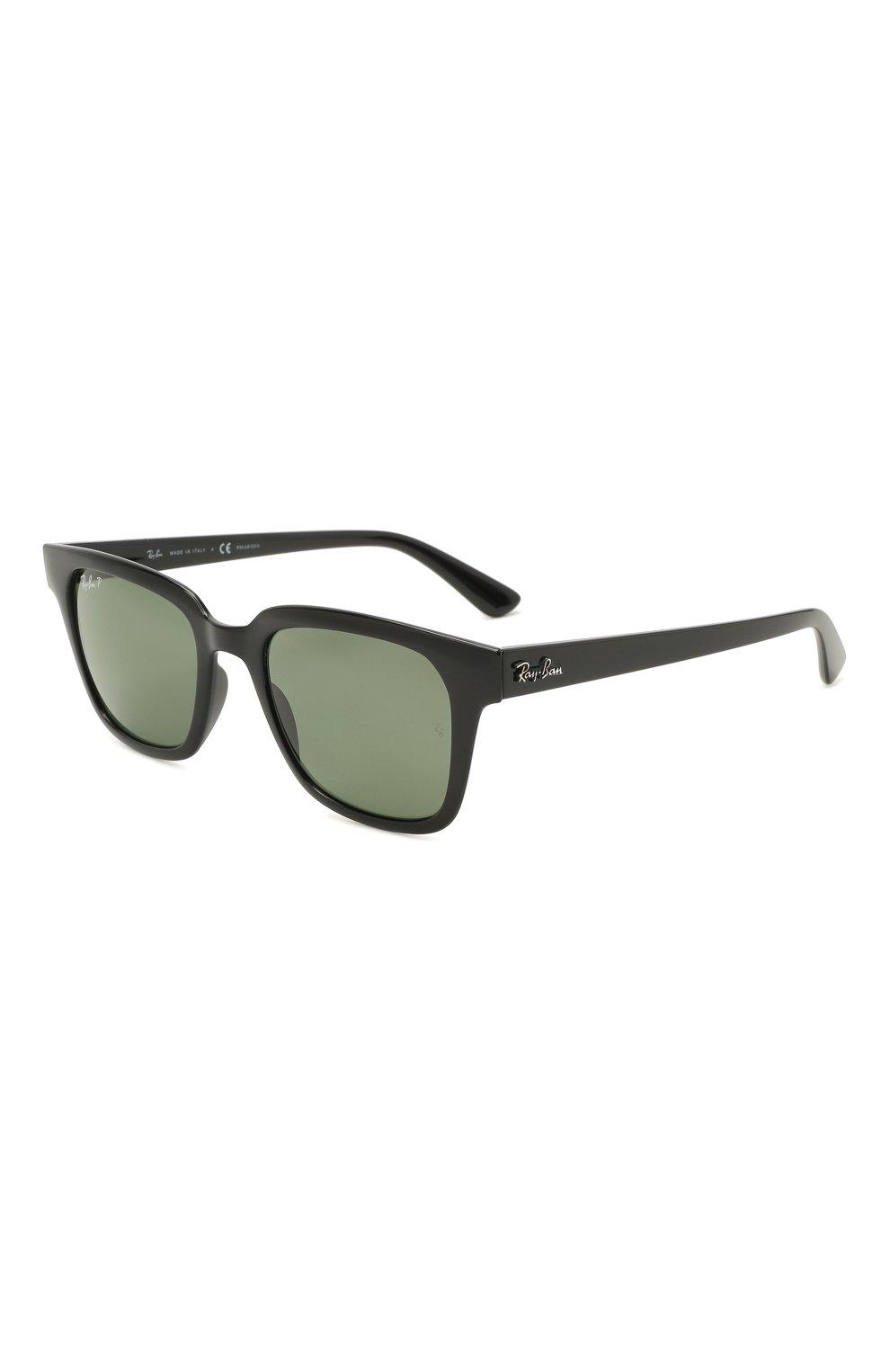 Женские солнцезащитные очки RAY-BAN черного цвета, арт. 4323-601/9A | Фото 1