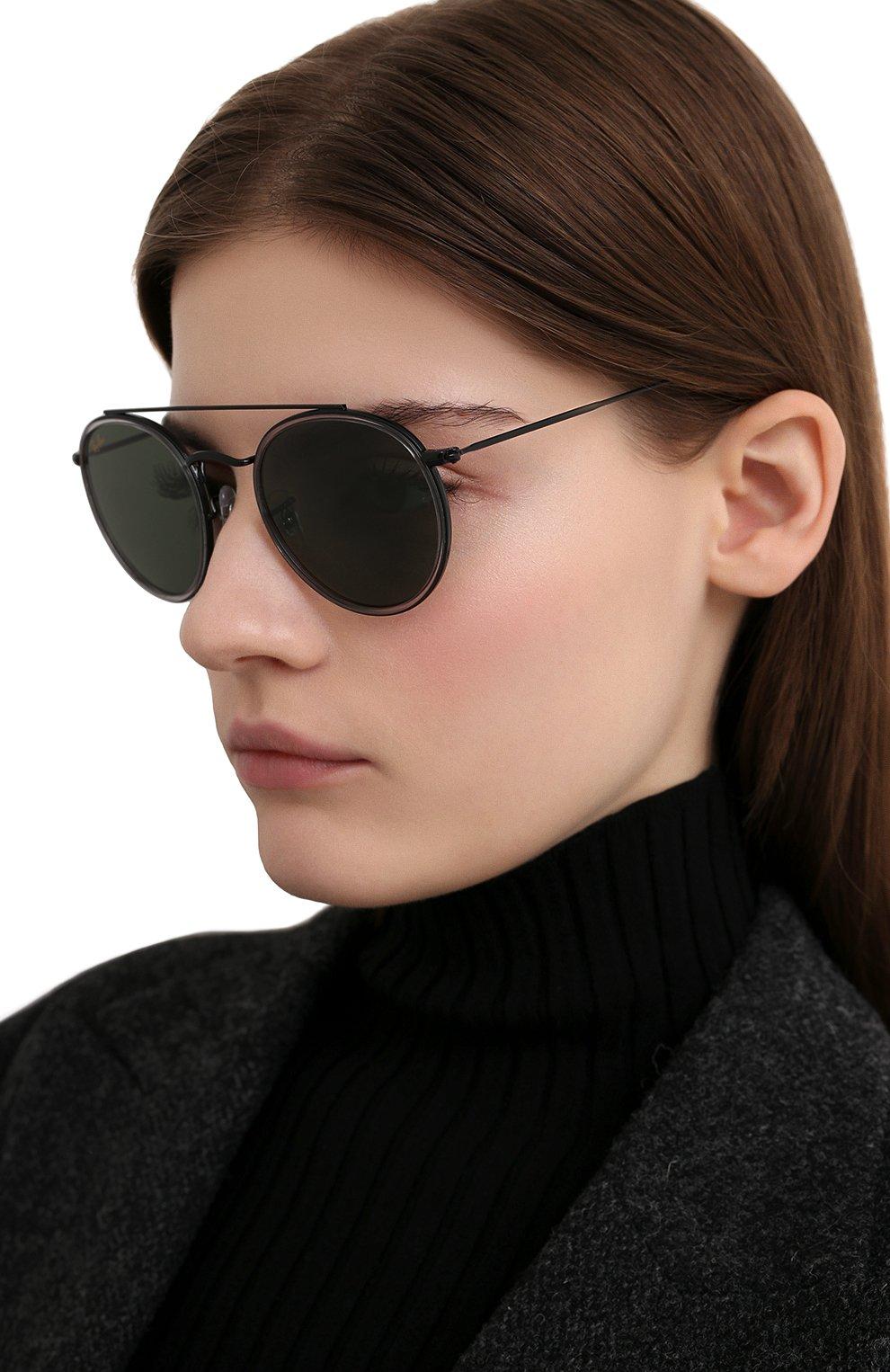 Женские солнцезащитные очки RAY-BAN черного цвета, арт. 3647N-921231   Фото 2
