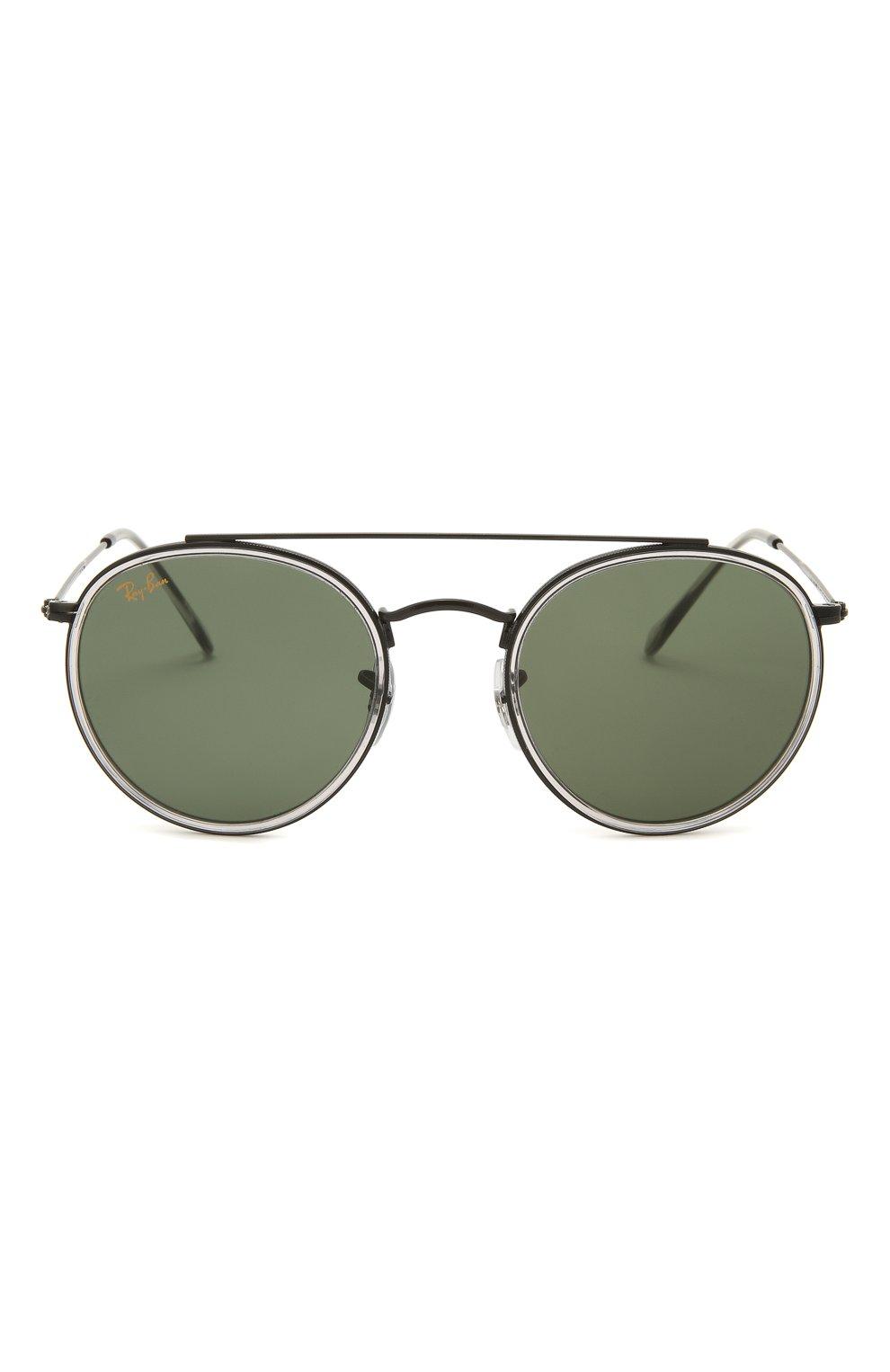Женские солнцезащитные очки RAY-BAN черного цвета, арт. 3647N-921231   Фото 4