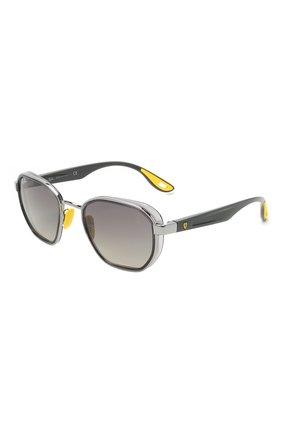 Женские солнцезащитные очки RAY-BAN серого цвета, арт. 3674M-F03011 | Фото 1