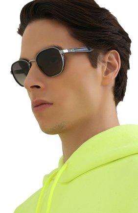 Женские солнцезащитные очки RAY-BAN серого цвета, арт. 3674M-F03011 | Фото 3