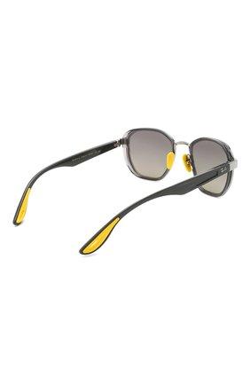 Женские солнцезащитные очки RAY-BAN серого цвета, арт. 3674M-F03011 | Фото 5