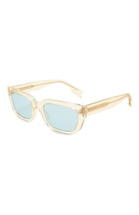 Женские солнцезащитные очки BURBERRY желтого цвета, арт. 4321-387980 | Фото 1