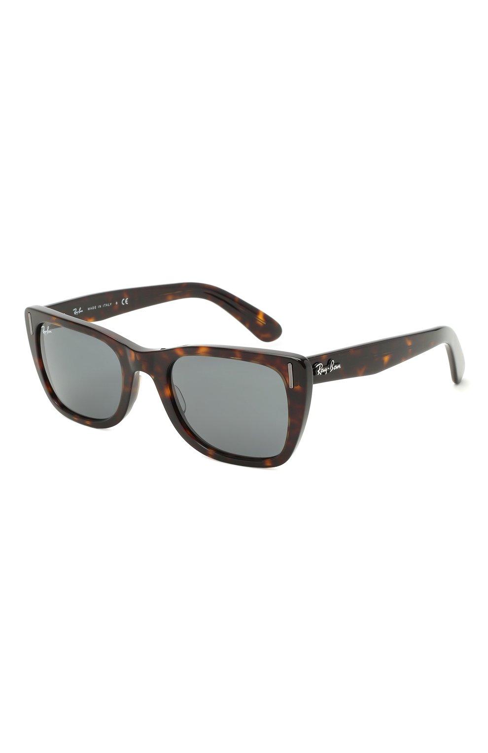 Женские солнцезащитные очки RAY-BAN коричневого цвета, арт. 2248-902/R5   Фото 1