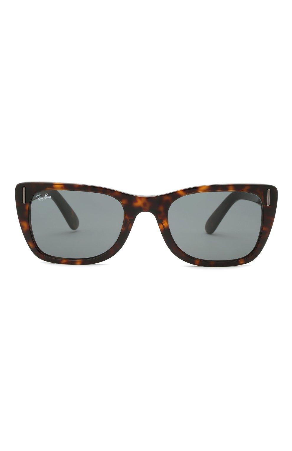 Женские солнцезащитные очки RAY-BAN коричневого цвета, арт. 2248-902/R5   Фото 4