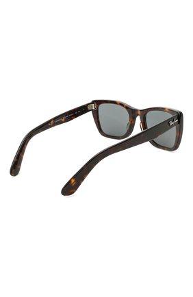 Женские солнцезащитные очки RAY-BAN коричневого цвета, арт. 2248-902/R5   Фото 5