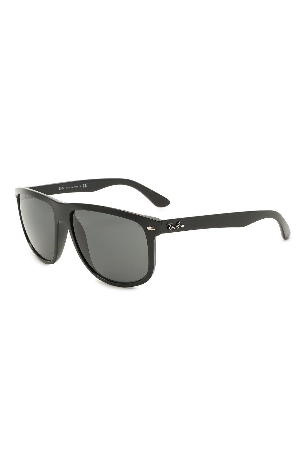 Мужские солнцезащитные очки RAY-BAN черного цвета, арт. 4147-601/87 | Фото 1