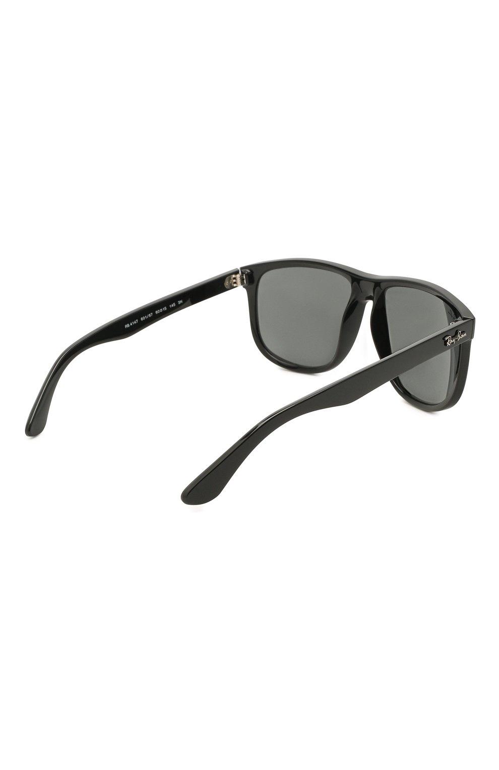 Мужские солнцезащитные очки RAY-BAN черного цвета, арт. 4147-601/87 | Фото 4