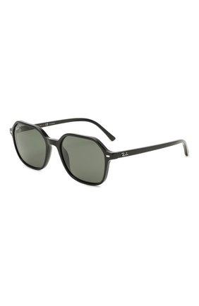 Женские солнцезащитные очки RAY-BAN черного цвета, арт. 2194-901/58 | Фото 1