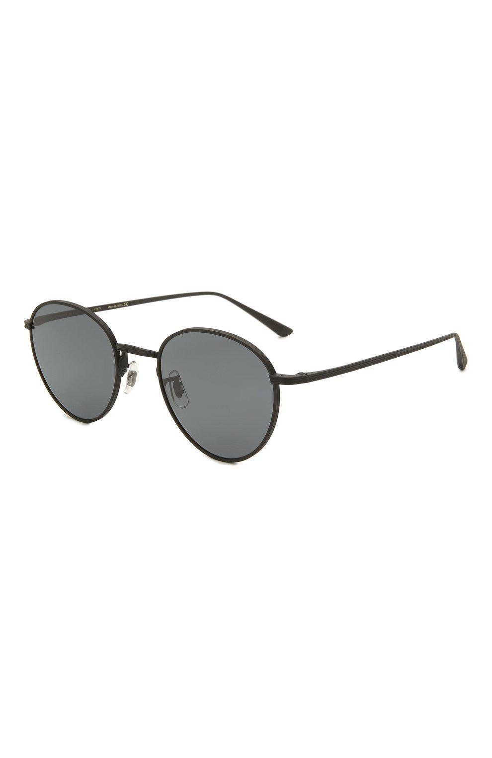 Женские солнцезащитные очки OLIVER PEOPLES черного цвета, арт. 1231ST-5017R5   Фото 1