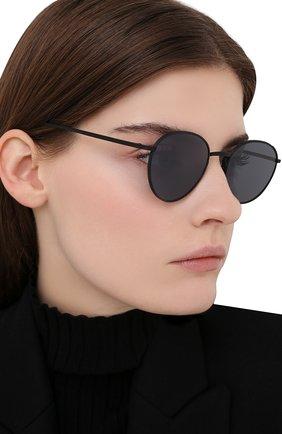 Женские солнцезащитные очки OLIVER PEOPLES черного цвета, арт. 1231ST-5017R5 | Фото 2