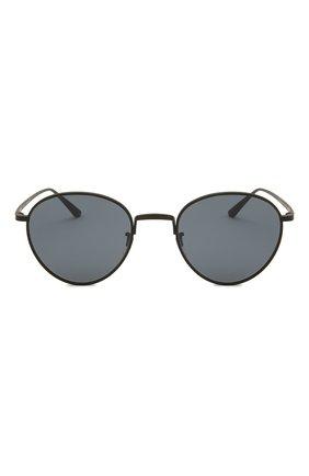 Женские солнцезащитные очки OLIVER PEOPLES черного цвета, арт. 1231ST-5017R5   Фото 4