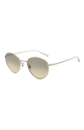 Женские солнцезащитные очки OLIVER PEOPLES серебряного цвета, арт. 1231ST-503632 | Фото 1