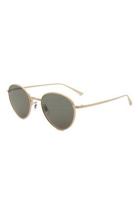 Женские солнцезащитные очки OLIVER PEOPLES золотого цвета, арт. 1231ST-5252R5 | Фото 1