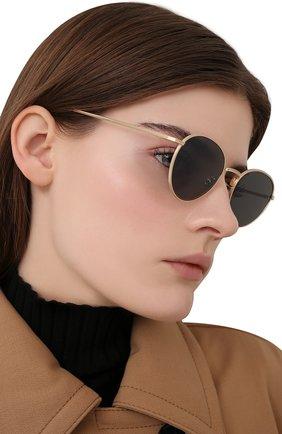 Женские солнцезащитные очки OLIVER PEOPLES золотого цвета, арт. 1231ST-5252R5 | Фото 2