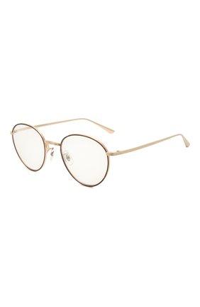 Женские солнцезащитные очки OLIVER PEOPLES золотого цвета, арт. 1231ST-52991W | Фото 1