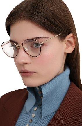 Женские солнцезащитные очки OLIVER PEOPLES золотого цвета, арт. 1231ST-52991W | Фото 2