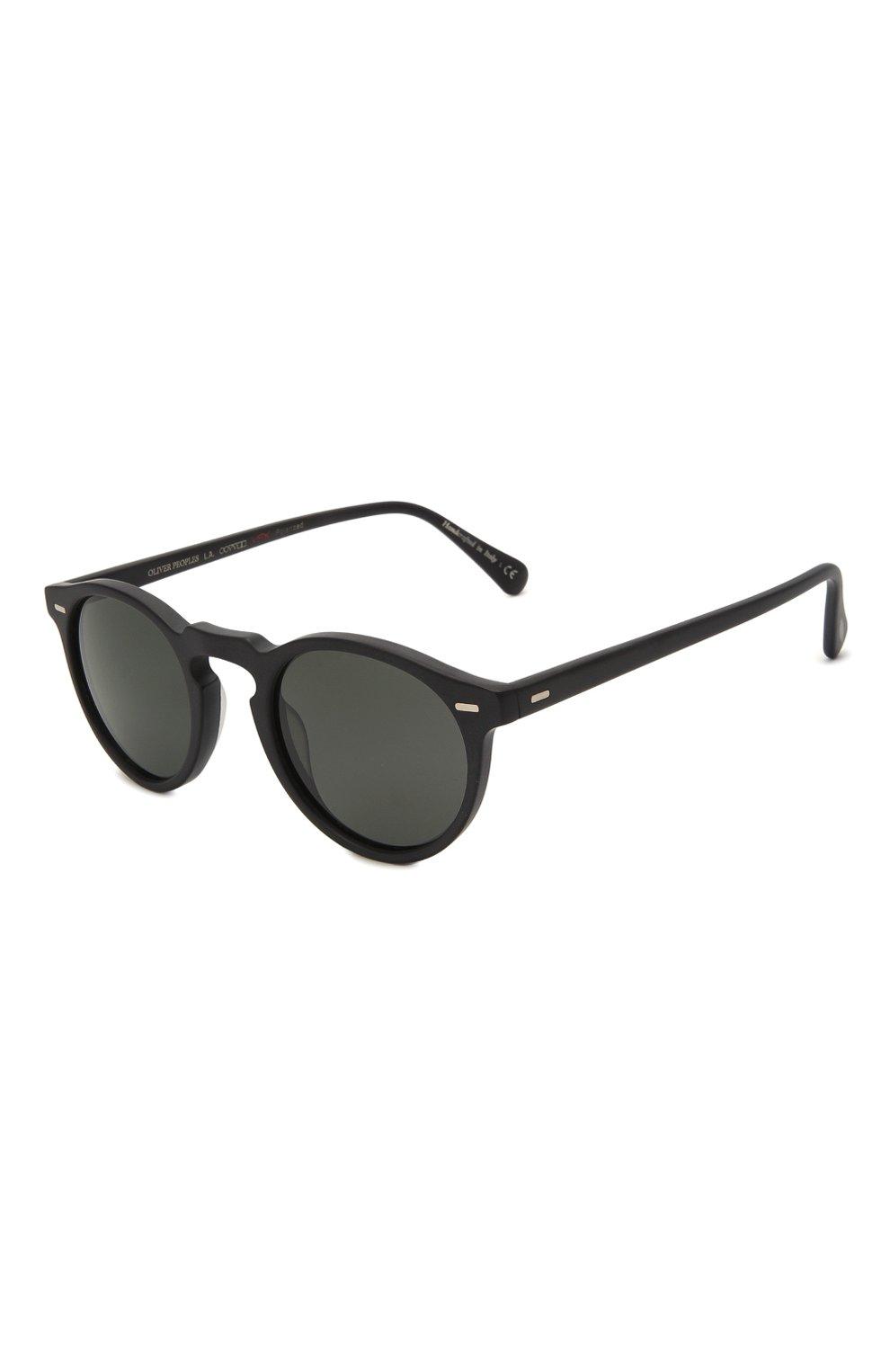 Женские солнцезащитные очки OLIVER PEOPLES черного цвета, арт. 5217S-1031P2 | Фото 1