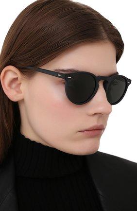 Женские солнцезащитные очки OLIVER PEOPLES черного цвета, арт. 5217S-1031P2 | Фото 2