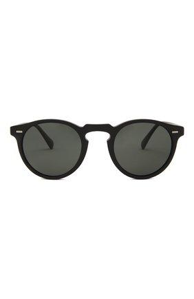 Женские солнцезащитные очки OLIVER PEOPLES черного цвета, арт. 5217S-1031P2 | Фото 4