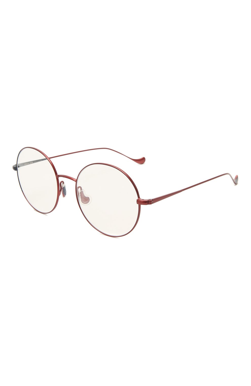 Женские оправа CAROLINE ABRAM красного цвета, арт. VENUS 593 | Фото 1 (Оптика Гендер: оптика-женское; Очки форма: Круглые; Тип очков: Оправа)