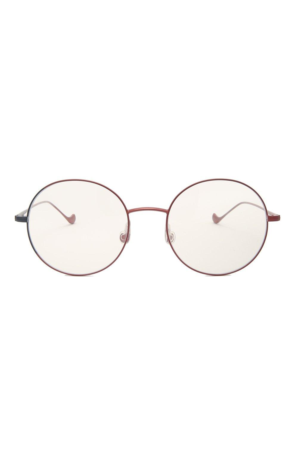 Женские оправа CAROLINE ABRAM красного цвета, арт. VENUS 593 | Фото 3 (Оптика Гендер: оптика-женское; Очки форма: Круглые; Тип очков: Оправа)