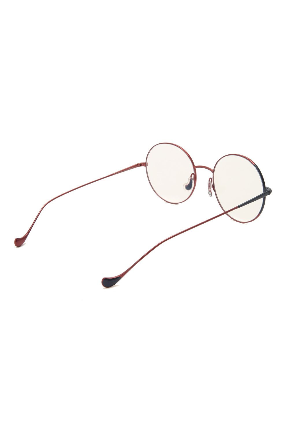 Женские оправа CAROLINE ABRAM красного цвета, арт. VENUS 593 | Фото 4 (Оптика Гендер: оптика-женское; Очки форма: Круглые; Тип очков: Оправа)
