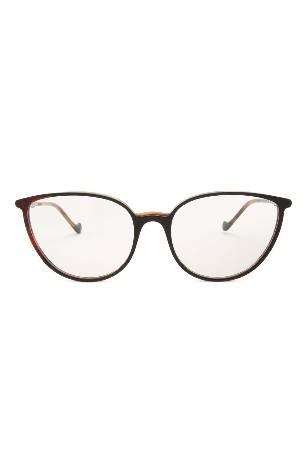 Женские оправа CAROLINE ABRAM коричневого цвета, арт. C0RALIE 671 | Фото 3 (Тип очков: Оправа; Оптика Гендер: оптика-женское; Очки форма: Cat-eye)