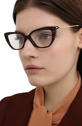Женские оправа VALENTINO коричневого цвета, арт. 3045-5002 | Фото 2