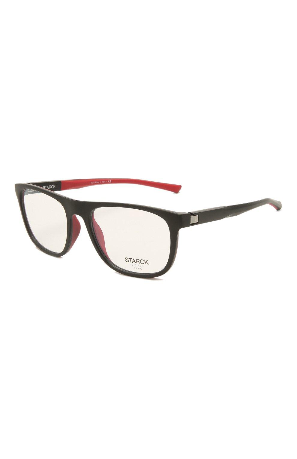 Мужские оправа STARCK EYES черного цвета, арт. 3071-0001 | Фото 1 (Очки форма: Прямоугольные; Оптика Гендер: оптика-мужское)