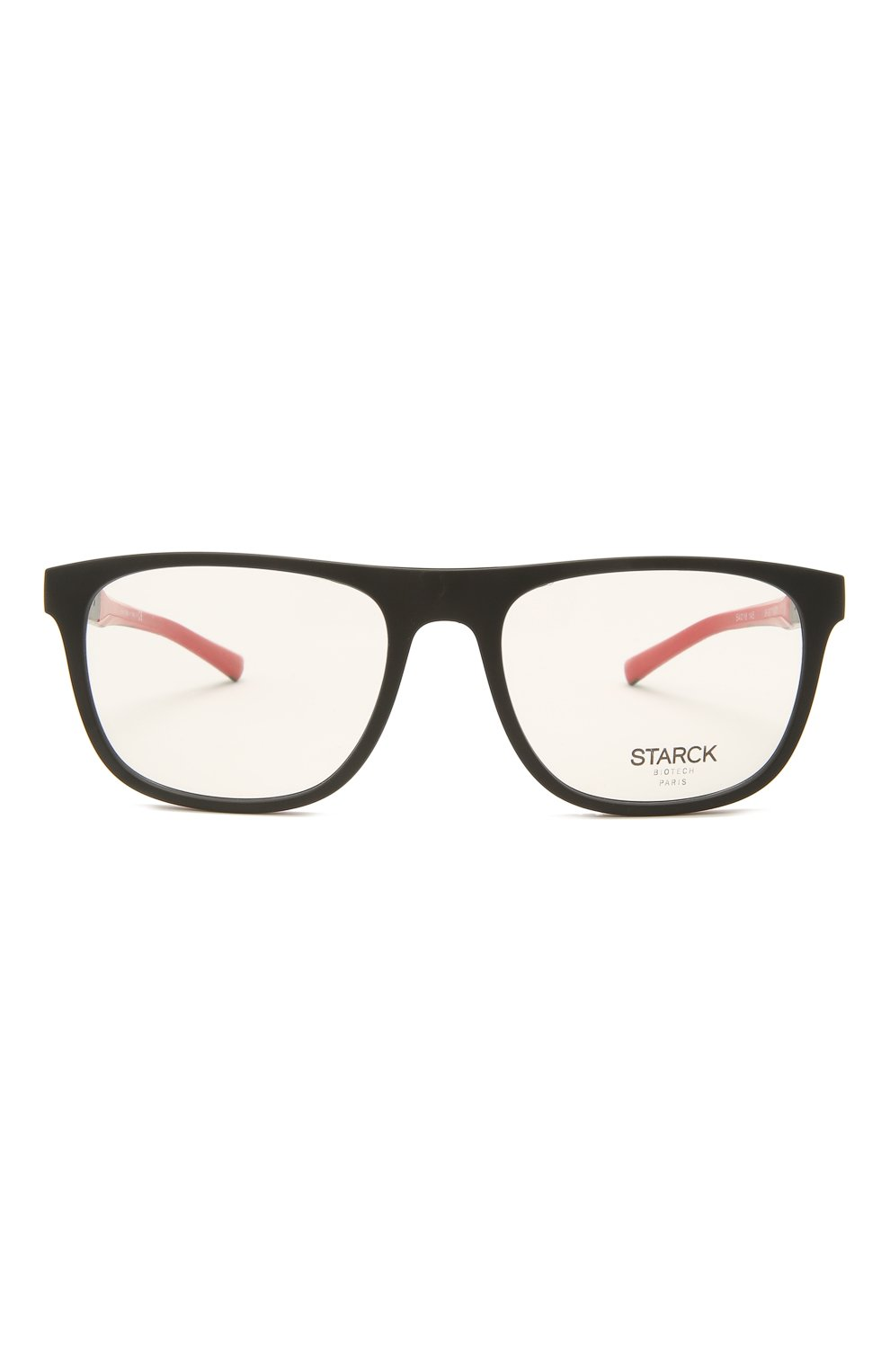 Мужские оправа STARCK EYES черного цвета, арт. 3071-0001 | Фото 3 (Очки форма: Прямоугольные; Оптика Гендер: оптика-мужское)