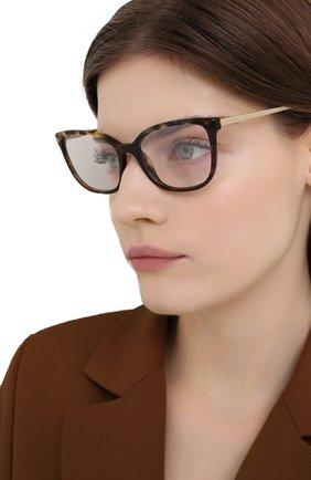 Женские оправа PRADA коричневого цвета, арт. 07WV-06N101 | Фото 2