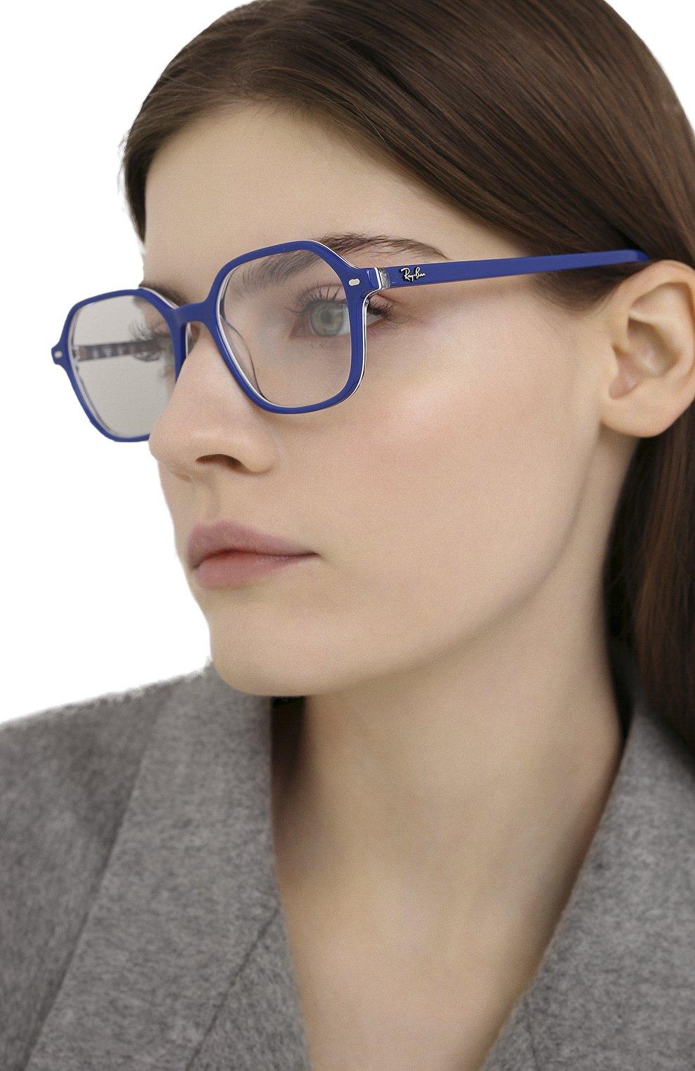 Женские оправа RAY-BAN синего цвета, арт. 5394-8090 | Фото 2
