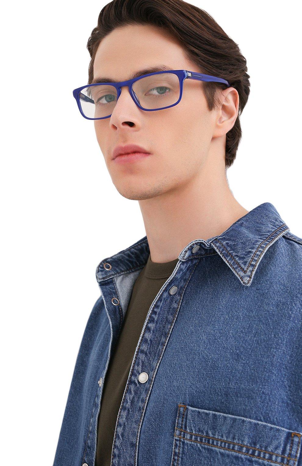 Мужские оправа STARCK EYES синего цвета, арт. 3059-0003 | Фото 2 (Тип очков: Оправа; Очки форма: Прямоугольные; Оптика Гендер: оптика-мужское)