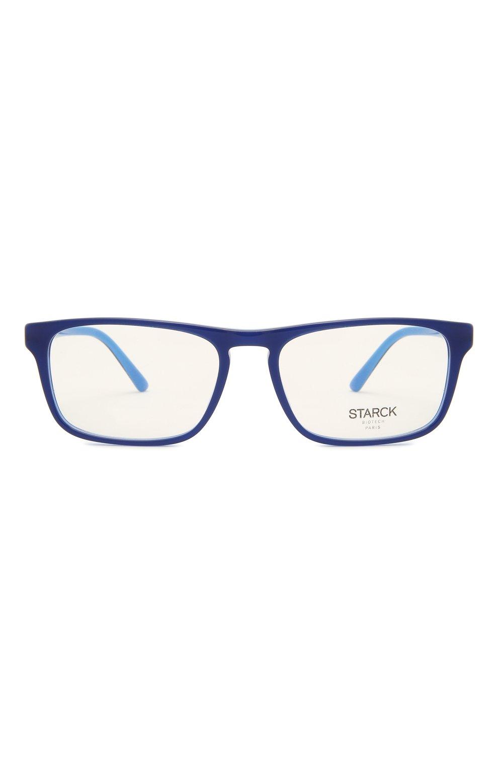 Мужские оправа STARCK EYES синего цвета, арт. 3059-0003 | Фото 3 (Тип очков: Оправа; Очки форма: Прямоугольные; Оптика Гендер: оптика-мужское)