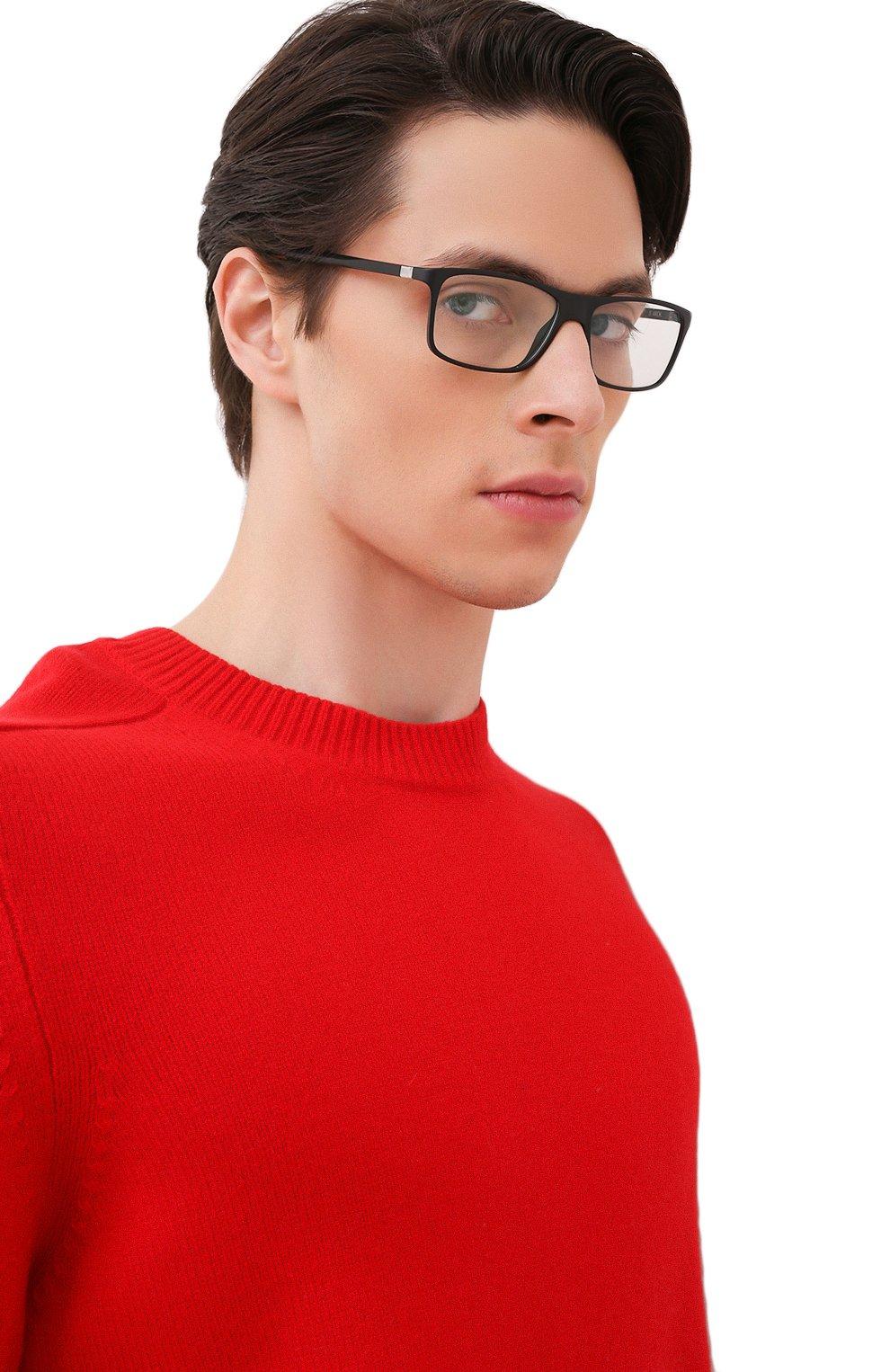 Мужские оправа STARCK EYES черного цвета, арт. 1365M-0002 | Фото 2 (Тип очков: Оправа; Очки форма: Прямоугольные; Оптика Гендер: оптика-мужское)