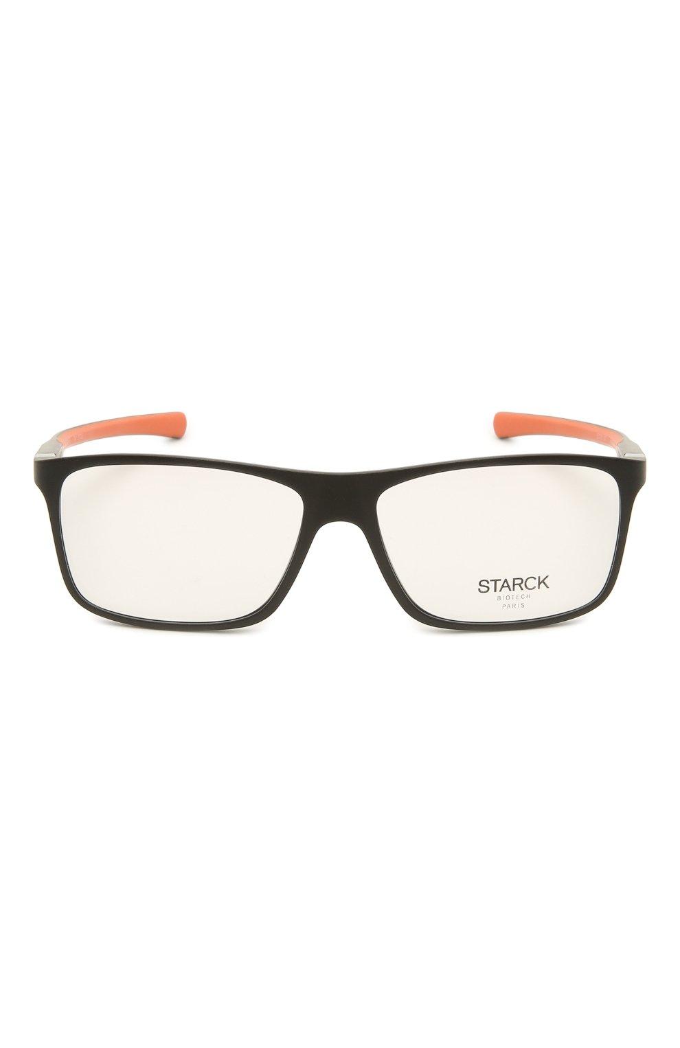 Мужские оправа STARCK EYES черного цвета, арт. 1365M-0002 | Фото 3 (Тип очков: Оправа; Очки форма: Прямоугольные; Оптика Гендер: оптика-мужское)