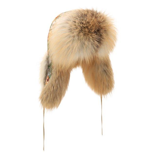 Шапка-ушанка Дарья из меха лисы FurLand