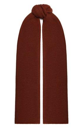 Женский кашемировый шарф helsinki BALMUIR коричневого цвета, арт. 122102   Фото 1
