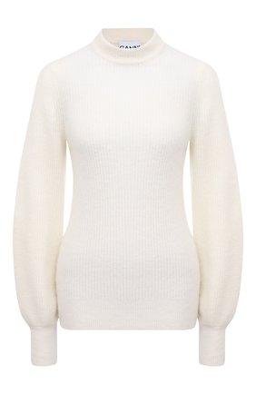 Женский свитер GANNI бежевого цвета, арт. K1496 | Фото 1