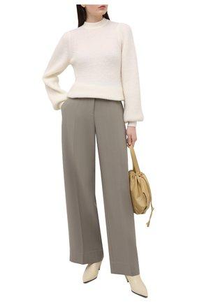 Женский свитер GANNI бежевого цвета, арт. K1496 | Фото 2