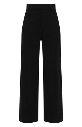 Женские брюки GANNI черного цвета, арт. F5681 | Фото 1