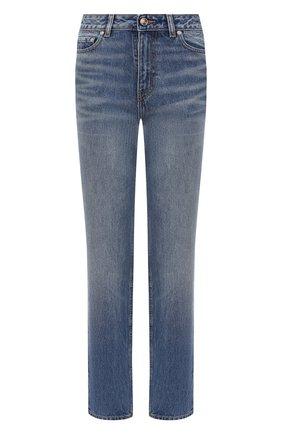 Женские джинсы GANNI синего цвета, арт. F5482 | Фото 1