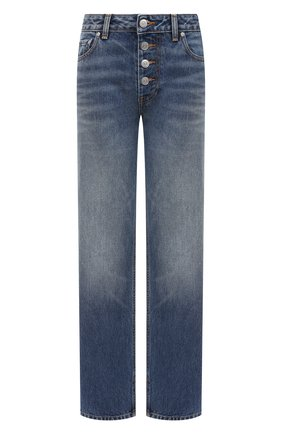 Женские джинсы GANNI синего цвета, арт. F5481 | Фото 1